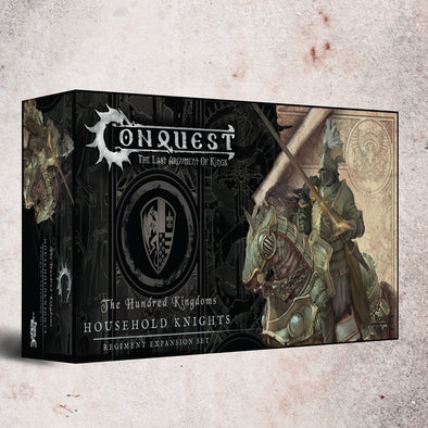 Buy Conquest - Hundred Kingdoms - Household Knights (Pre-Order) and more Great Tabletop Wargames Products at 401 Games