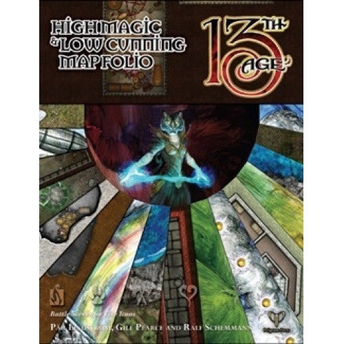Buy 13th Age - High Magic and Low Cunning Map Folio and more Great RPG Products at 401 Games