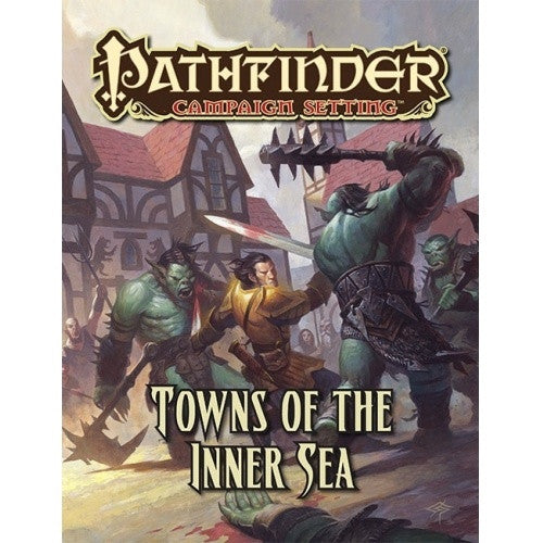 Pathfinder - Campaign Setting - Towns of the Inner Sea - 401 Games