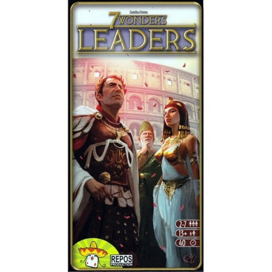 Buy 7 Wonders - Leaders Expansion and more Great Board Games Products at 401 Games
