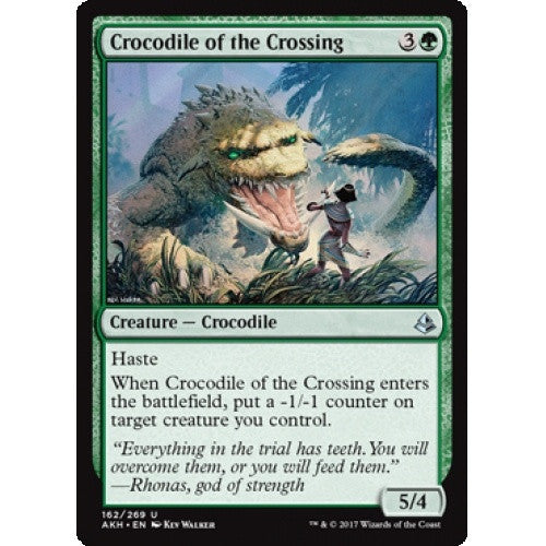 Crocodile of the Crossing (AKH) available at 401 Games Canada