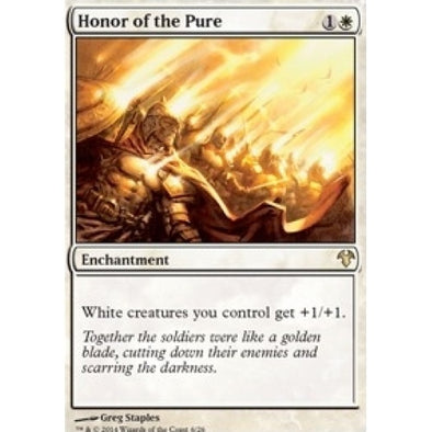 Honor of the Pure (MD1) available at 401 Games Canada