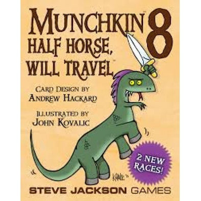 Munchkin 8 - Half Horse Will Travel - 401 Games