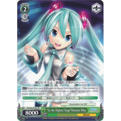 """To the Highest Stage""Hatsune Miku available at 401 Games Canada"