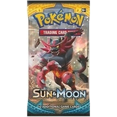 Pokemon - Sun and Moon Booster Pack - 401 Games