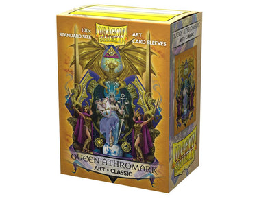 Dragon Shield - 100ct Standard Size - Art - Queen Athromark - 401 Games