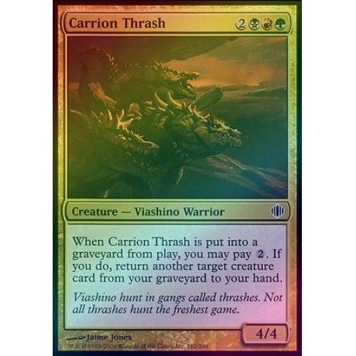 Carrion Thrash (Foil) (ALA) available at 401 Games Canada