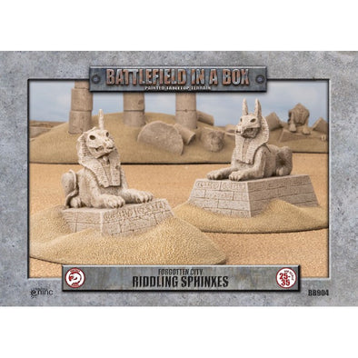 Battlefield in a Box - Forgotten City - Riddling Sphinxes available at 401 Games Canada