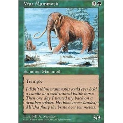 War Mammoth - 401 Games