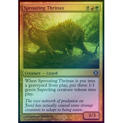 Sprouting Thrinax (Foil) (ALA) - 401 Games