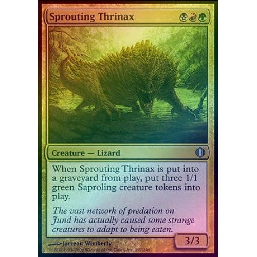 Sprouting Thrinax (Foil) (ALA) available at 401 Games Canada