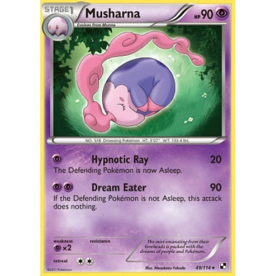 Buy Musharna - 49/114 and more Great Pokemon Products at 401 Games