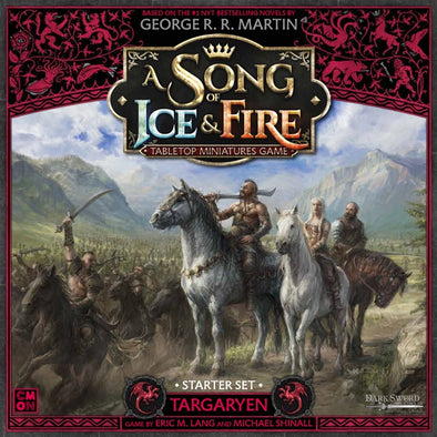 A Song of Ice and Fire - Tabletop Miniatures Game - Targaryen Starter Set available at 401 Games Canada