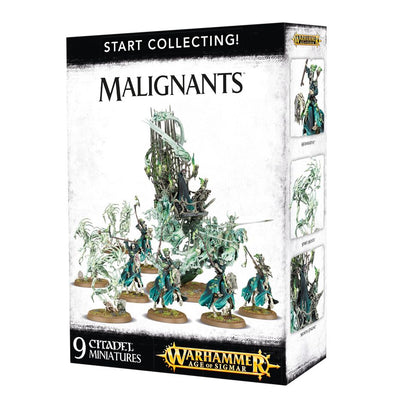 Buy Warhammer - Age of Sigmar - Start Collecting! Malignants and more Great Games Workshop Products at 401 Games