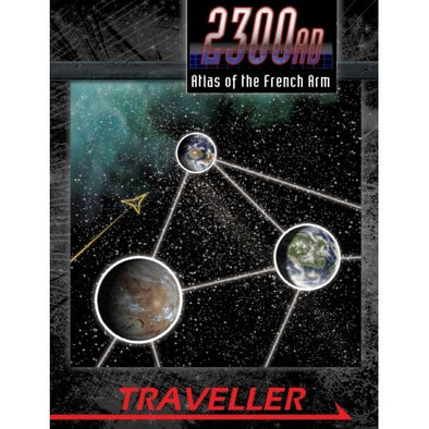 Traveller - 2300AD - Atlas of the French Arm - 401 Games