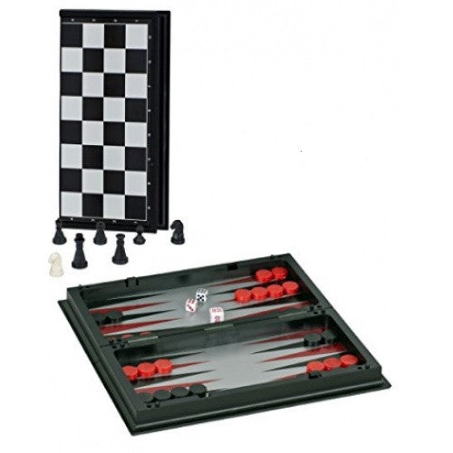 "Buy Multiple Game Set - 3 in 1 10"" Combonation Game Set - Wood Expressions and more Great Board Games Products at 401 Games"
