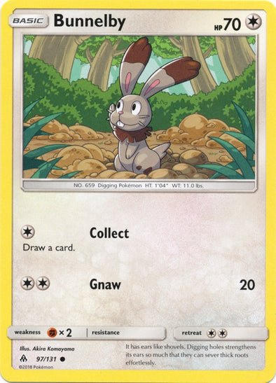 Buy Bunnelby - 97/131 and more Great Pokemon Products at 401 Games