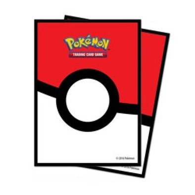 Ultra Pro - Standard Card Sleeves 65ct - Pokemon - Pokeball - 401 Games