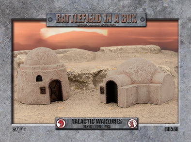 Buy Battlefield in a Box - Galactic Warzones - Desert Buildings and more Great Tabletop Wargames Products at 401 Games