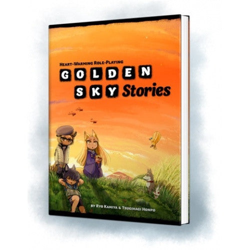 Buy Golden Sky Stories: Heart-Warming Roleplaying - Core Rulebook (Softcover) and more Great RPG Products at 401 Games