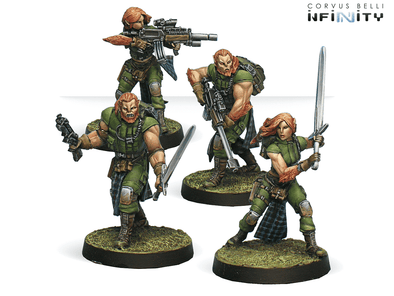 Infinity - Ariadna - 9th Wulver Grenadiers Regiment - 401 Games