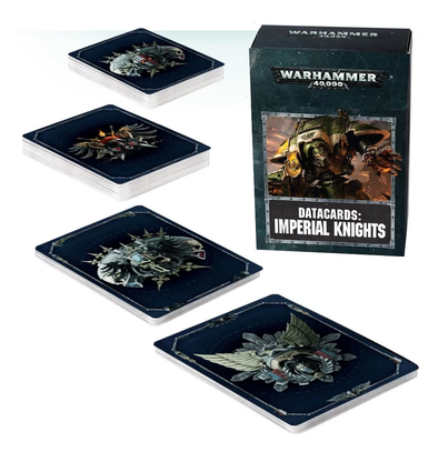 Warhammer 40,000 - Datacards: Imperial Knights - 8th Edition available at 401 Games Canada