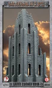 Battlefield in a Box - Gothic Battlefields - Large Corner Ruin available at 401 Games Canada