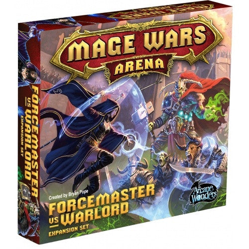 Mage Wars Arena - Forcemaster vs Warlord Expansion Set - 401 Games