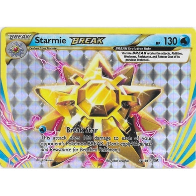 Buy Starmie BREAK - 32/108 and more Great Pokemon Products at 401 Games