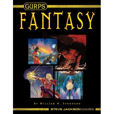 Gurps - Fantasy (Softcover) - 401 Games