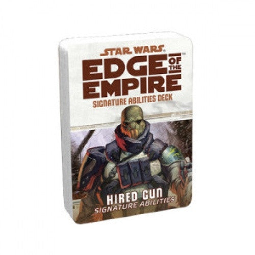 Buy Star Wars: Edge of the Empire - Specialization Deck - Hired Gun Signature Abilities and more Great RPG Products at 401 Games