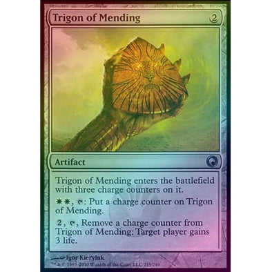 Trigon of Mending (Foil) (SOM) available at 401 Games Canada