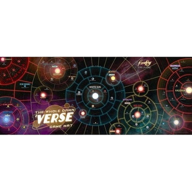 Firefly the Game - The Whole Damn Verse Game Mat available at 401 Games Canada