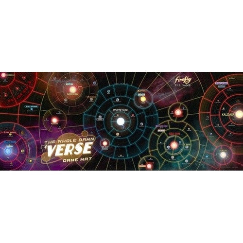 Firefly the Game - The Whole Damn Verse Game Mat - 401 Games