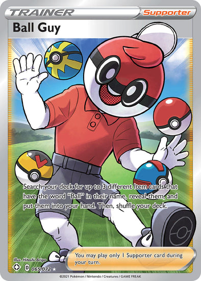 Ball Guy (Full Art) - 065/072 available at 401 Games Canada