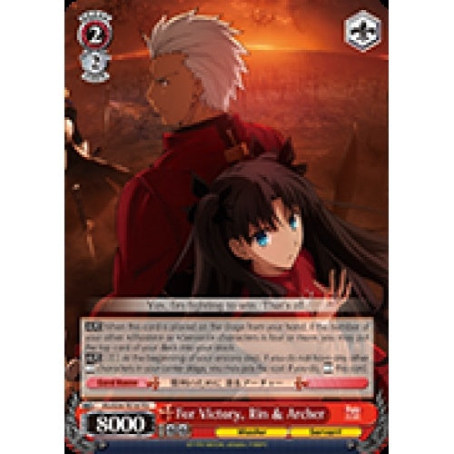 For Victory, Rin & Archer (SR) available at 401 Games Canada