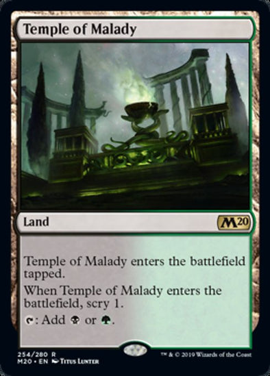 Temple of Malady (M20) - 401 Games