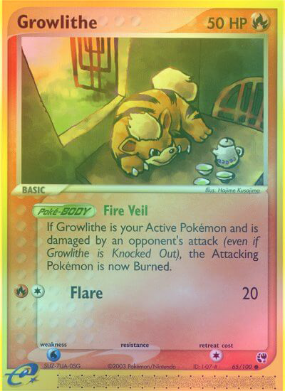 Growlithe - 65/100 - Reverse Foil (SST065R) available at 401 Games Canada