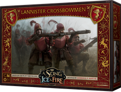 Buy A Song of Ice and Fire - Tabletop Miniatures Game - House Lannister - Lannister Crossbowmen and more Great Tabletop Wargames Products at 401 Games