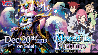 Cardfight!! Vanguard - V Extra Booster 10: The Mysterious Fortune available at 401 Games Canada