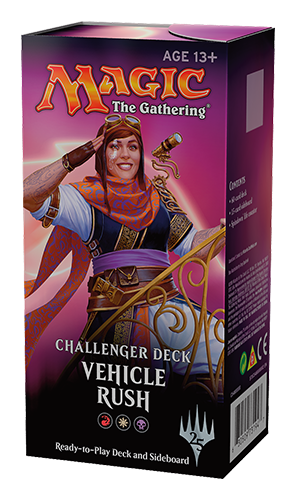 Buy MTG - Challenger Decks 2018 - Vehicle Rush and more Great Magic: The Gathering Products at 401 Games