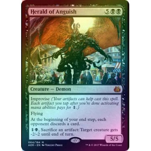 Herald of Anguish (Foil) (AER) available at 401 Games Canada