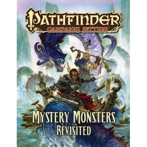 Buy Pathfinder - Campaign Setting - Mystery Monsters Revisited and more Great RPG Products at 401 Games