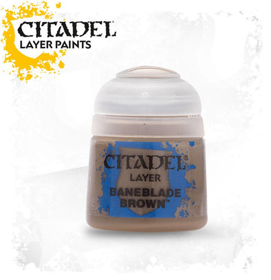 Buy Citadel Layer - Baneblade Brown and more Great Games Workshop Products at 401 Games