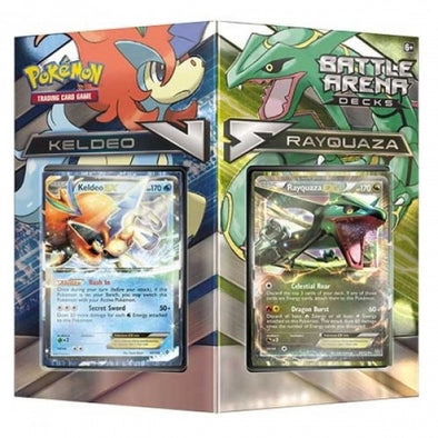 Buy Pokemon - Battle Arena Decks - Rayquaza Vs. Keldeo and more Great Pokemon Products at 401 Games