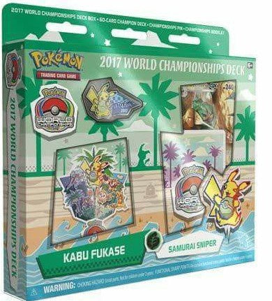 Buy Pokemon - World Championships Deck '17 - Kabu Fukase's Samurai Sniper and more Great Pokemon Products at 401 Games