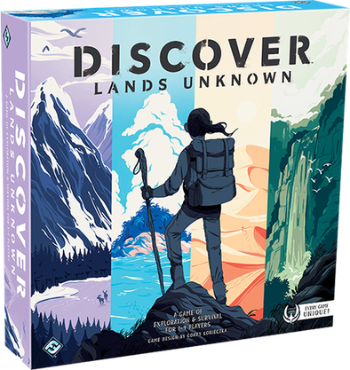 Buy Discover: Lands Unknown and more Great Board Games Products at 401 Games