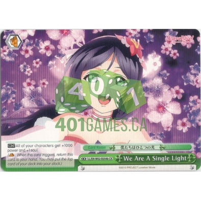 We Are A Single Light (Nozomi) available at 401 Games Canada