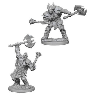 Buy Pathfinder Deep Cuts Unpainted Minis: Half Orc Male Barbarian and more Great RPG Products at 401 Games