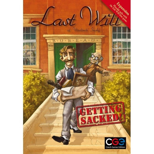 Last Will: Getting Sacked Expansion available at 401 Games Canada